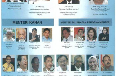 adakah ini kabinet pakatan rakyat jika menawan putrajaya 456x300 - Where is Pakatan's Shadow Cabinet? Here is Our Choice.